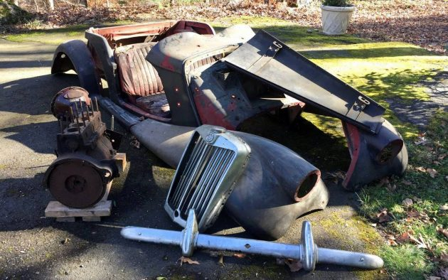 Estate Sale Find 1955 Mg Tf 1500 Roadster