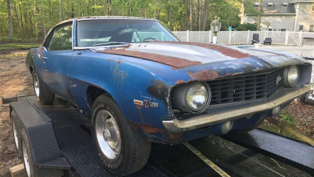 No-Reserve Project! 1969 Camaro Four-Speed Roller