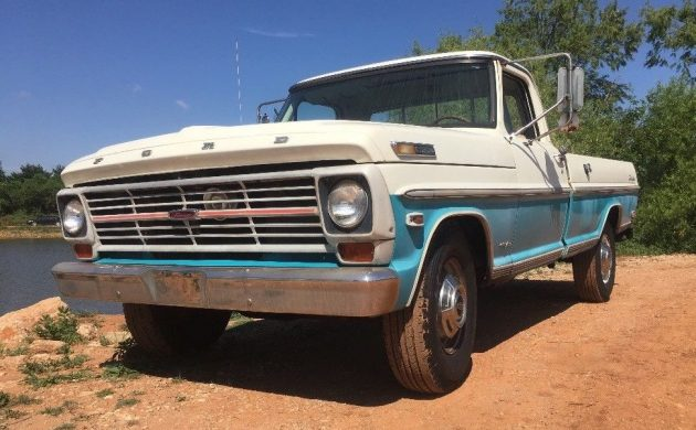 Only 47,000 Miles! 1969 Ford F-250 Camper Special on