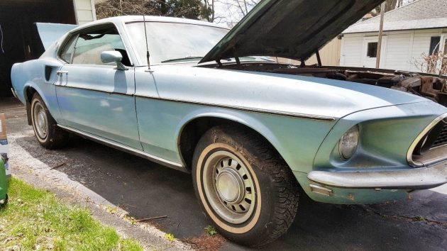 One Owner 1969 Mustang Mach 1