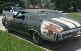 Original Owner! 1970 Chevrolet Chevelle SS396
