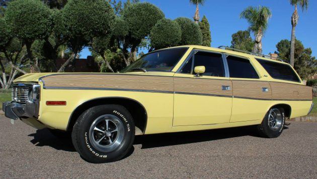 Look Out Bulls: 1973 AMC Matador Station Wagon