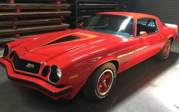 Amazing Survivor 1977 Chevrolet Camaro Z28