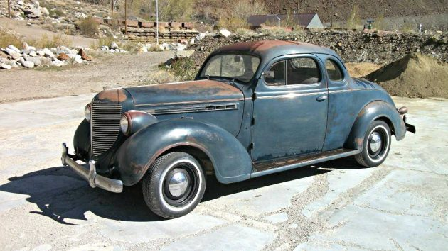 How To Clean Car Carpet >> Fit For A Royal: 1938 Chrysler Royal Business Coupe