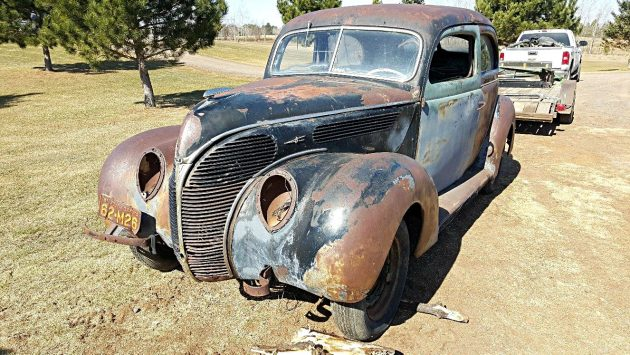 Solid Henry Steel: 1938 Ford Deluxe