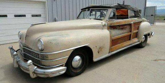 Drop Top Woody: 1946 Chrysler Town and Country