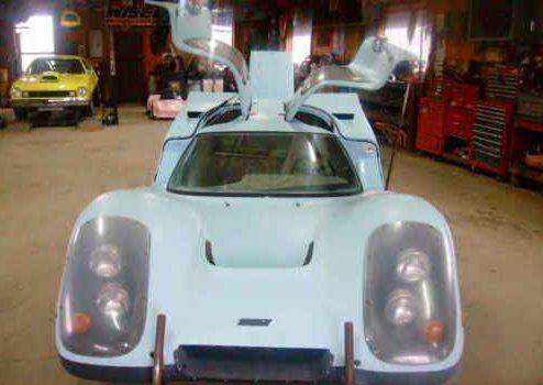"Fool the Neighbors? Replica Porsche ""Laser"" 917 Kit"