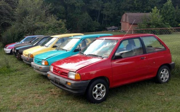 Ford Festiva For Sale >> Eight Ford Festivas For Only $900!