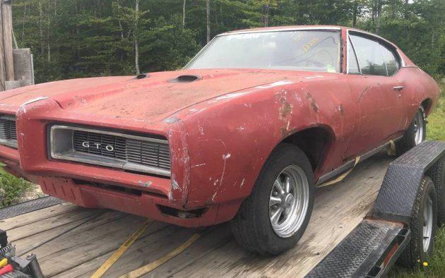 Never Left New England: 1968 Pontiac GTO