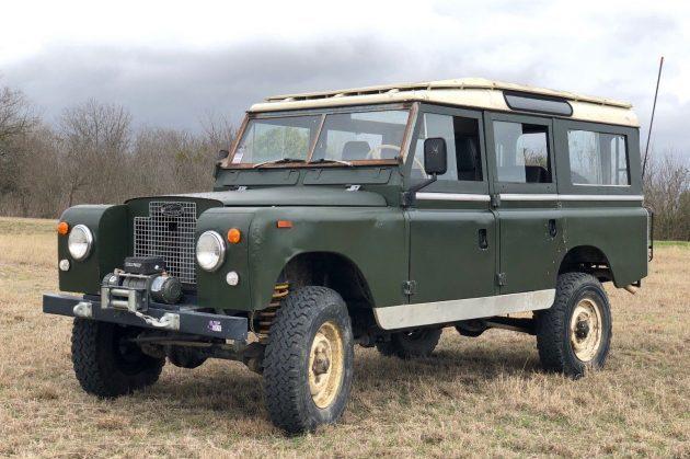 Ready for Adventure: 1969 Rover Series IIA Beauty