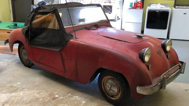 The Reds, Radio's and Rationing: 1951 Crosley Sport