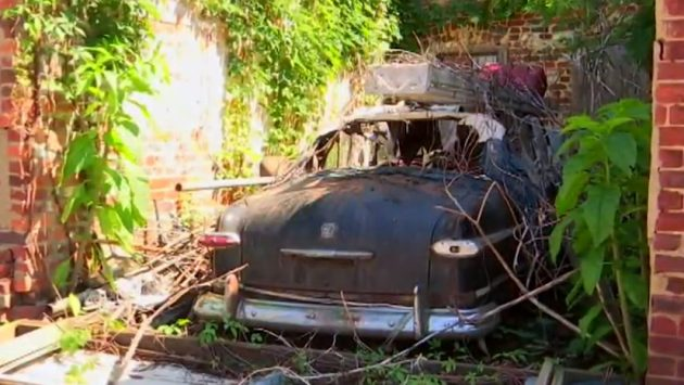 Exposed by Weather: Hidden 1951 Ford Convertible