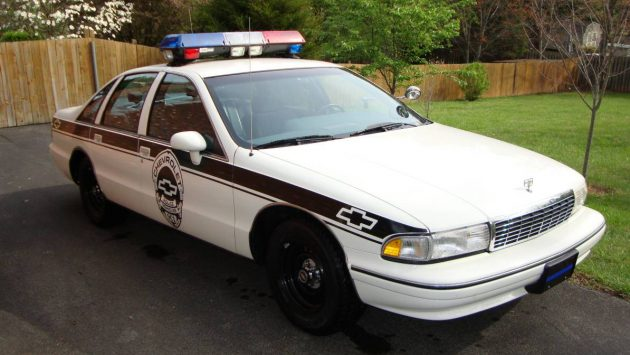 Preserved Cop Spec: 1993 Chevy Caprice 9C1