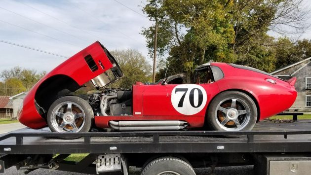 Fire Victim: Superformance Shelby Daytona Coupe