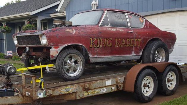 Built For 68 Season Opel Kadett Gasser