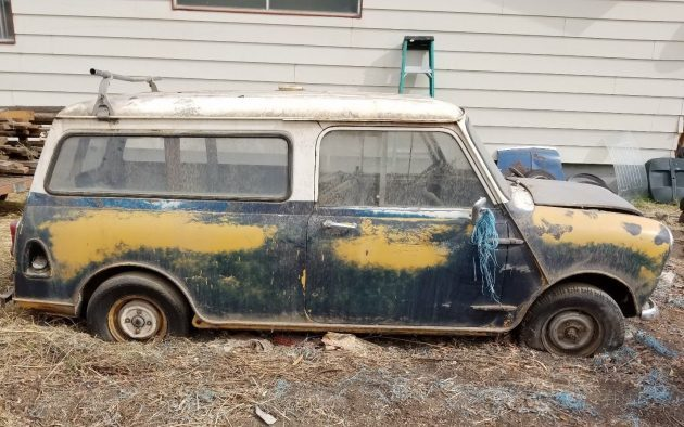 Mini For Sale Barn Finds