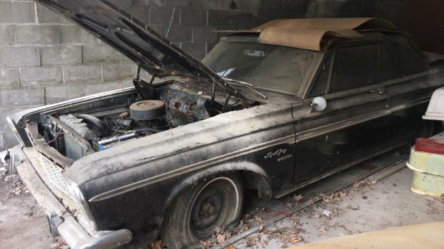 Stored For 30 Years: 1963 Plymouth Sport Fury Convertible