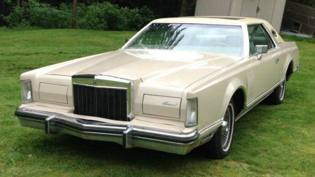 Grandpa's Lincoln! 1978 Lincoln Continental Mk  V