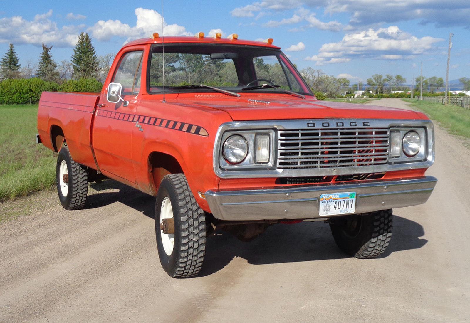 Dodge Pwer Wagon on 1977 Dodge Power Wagon
