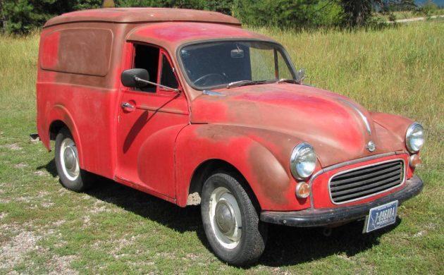 Bigfork Brit: 1970 Morris Minor 1000 Van