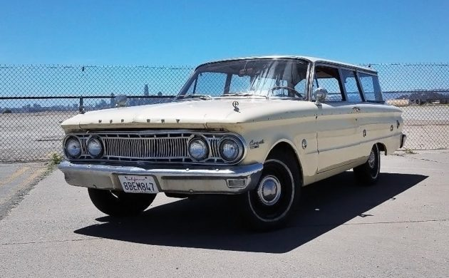 Two Door Cool: 1962 Mercury Comet Wagon