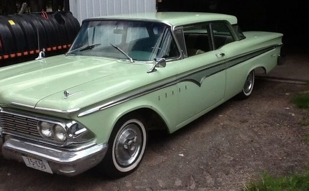 Where's The Grille? 1959 Edsel Ranger