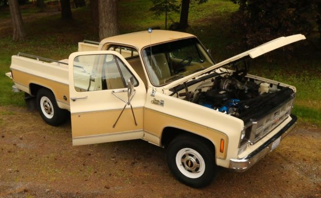 A Real Deal Steal: 1977 GMC Sierra 2500