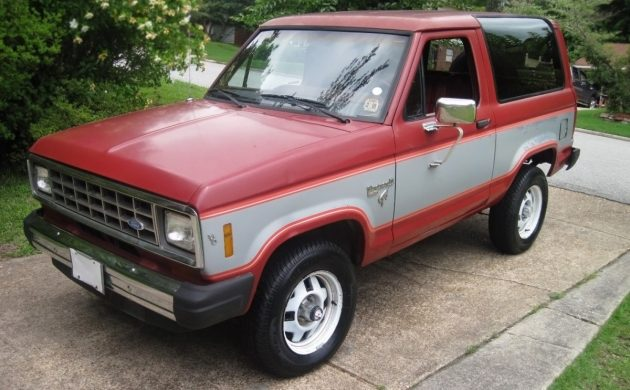 Southern SUV: 1985 Ford Bronco II XLT 5-speed