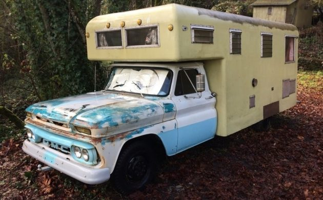 Boeing Engineer Built: 1966 GMC Camper