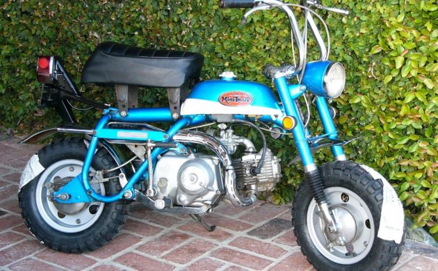 Big Man Small Bike: 1970 Honda Z50-AK2