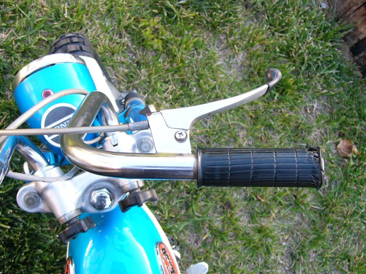 Big Man Small Bike 1970 Honda Z50 Ak2 Ct70 Spark Plug Restored Bikes Can Easily Run Two Or Three Times The Current Bid Price