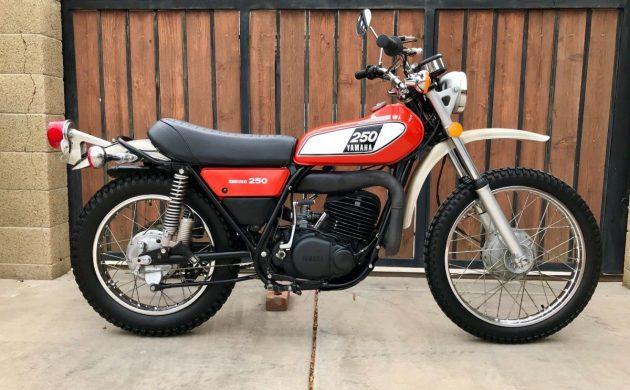 On/Off Road Gem: 1975 Yamaha DT250