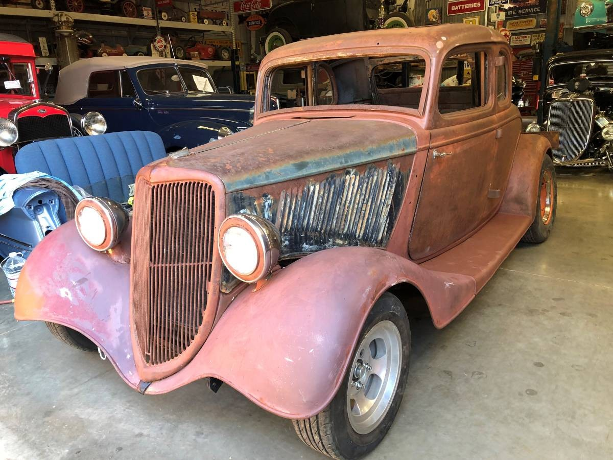 Craigslist Classifieds Los Angeles >> All-Steel Hot Rod! 1934 Ford Five-Window Coupe