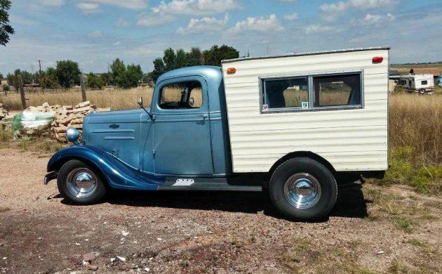 Camper Streetrod: 1936 Chevrolet Truck