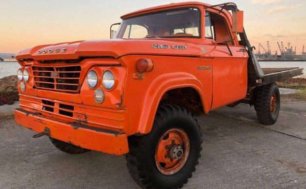 Orange Crush Survivor: 1962 Dodge Power Wagon 4×4