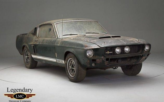 One Owner Barn Find 1967 Shelby Gt350