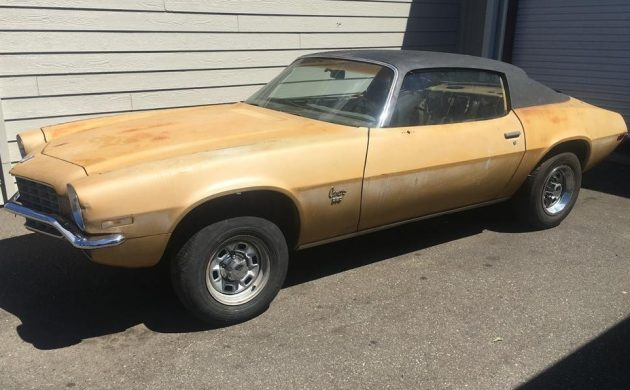 Enough To Start With: 1973 Chevrolet Camaro