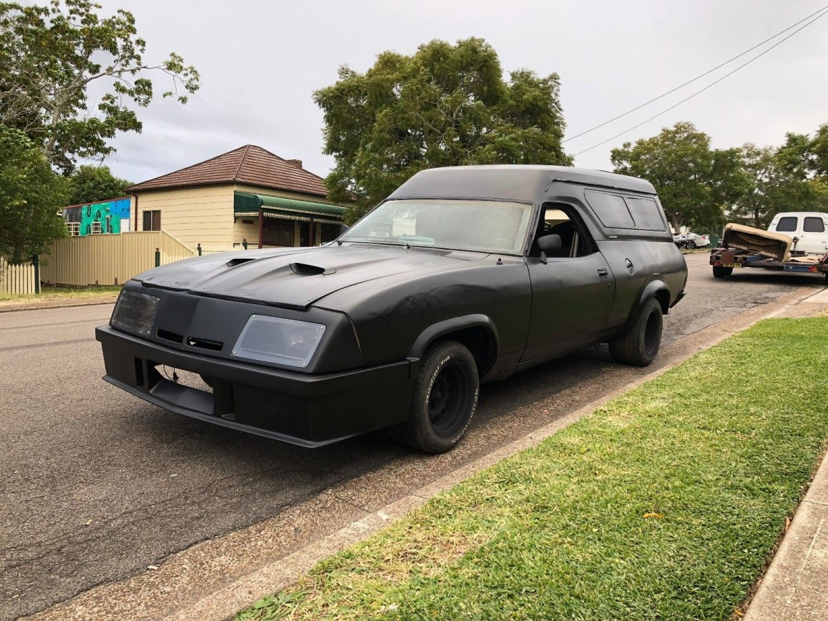 Mad Max The Plumber! 1978 Ford Falcon Panel Van