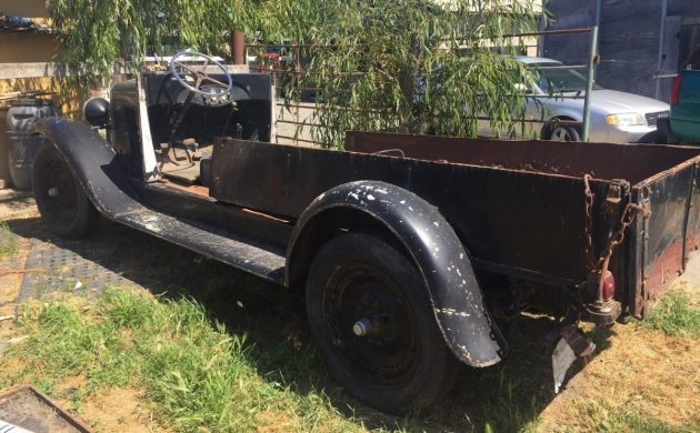 Windshield Included: 1929 Chevrolet Truck