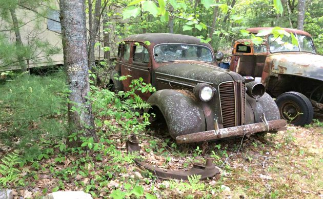 What A Pine Find: 1937 Dodge D5