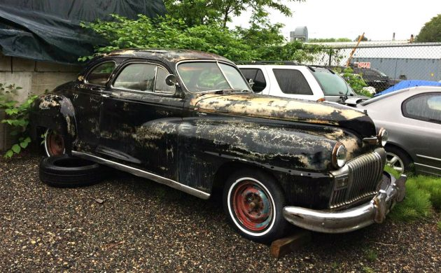 Its Old, Black, and Gold: 1947 Desoto Deluxe Coupe