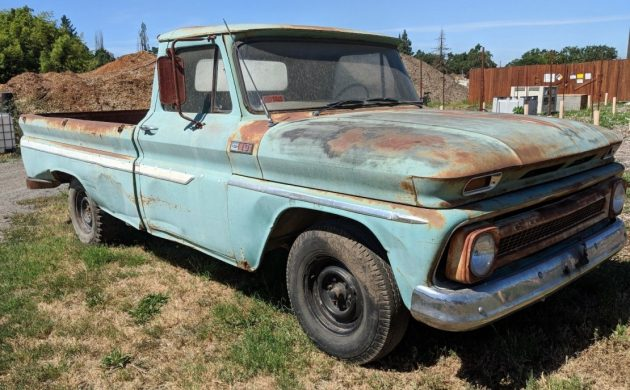 Patina Supreme: 1965 Chevy C-10 Longbed Pickup