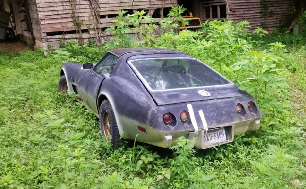 Roadside Sighting: Hatchback C3 Corvette