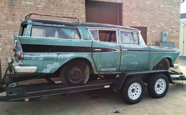 Roadside Sighting: 1959 Rambler Cross Country Wagon