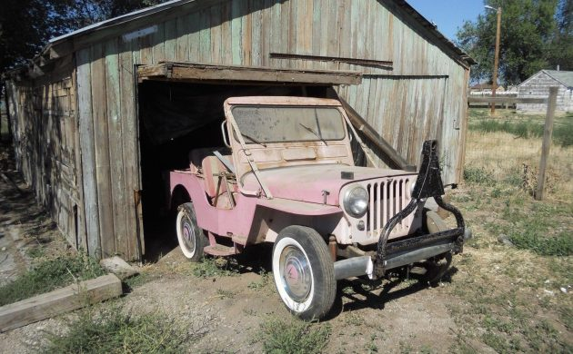 Beach Find: 1961 Willys Gala Runabout