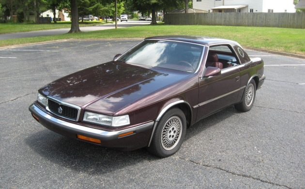 Garage Find with 16K: 1989 Chrysler TC Maserati