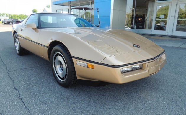 As New Dealer Trade: 1984 Chevy Corvette