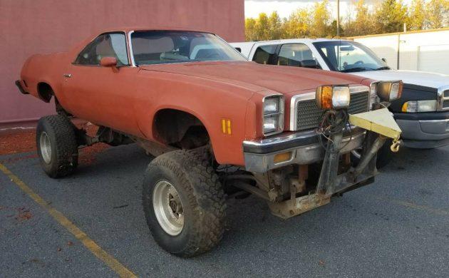 Is This The Way? 1977 Chevrolet El Camino