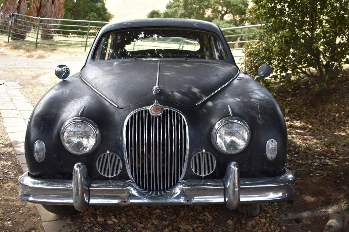 san jose estate find 1958 jaguar mark 1. Black Bedroom Furniture Sets. Home Design Ideas