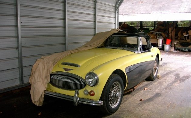 Stored For 30 Years: 1966 Austin Healey 3000